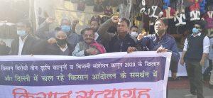 Bhopal Farmers Protest