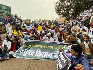 Harda Farmers Protest
